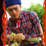 BBQ芸人たけだバーベキューが教える簡単、絶品アヒージョ。ナイスバーベ!