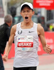 大迫傑_シカゴマラソン