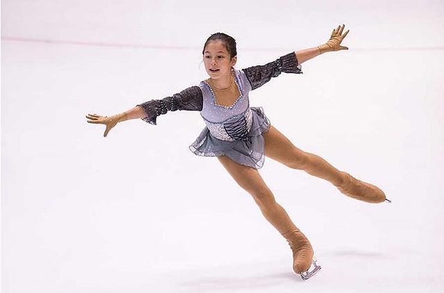 アリサ・リウ ジュニアアメリカ大会優勝